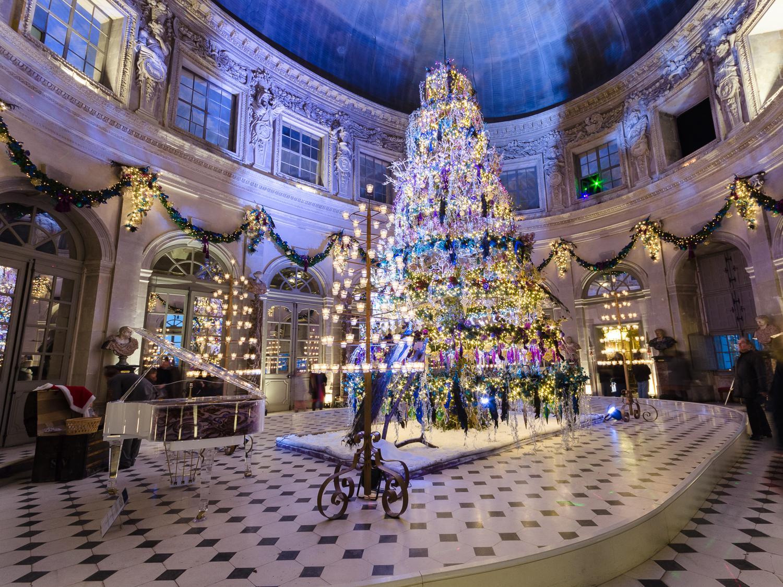 Chateau Decoration Noel
